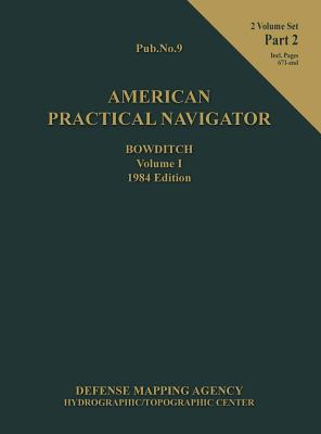 American Practical Navigator Bowditch 1984 Edition Vol1 Part 2 Cover Image