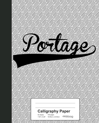 Calligraphy Paper: PORTAGE Notebook Cover Image