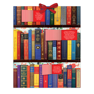 Festive Bookshelf Advent Calendar Cover Image