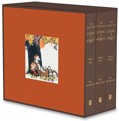 The Complete Calvin and Hobbes Cover Image