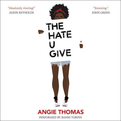 The Hate U Give Lib/E Cover Image