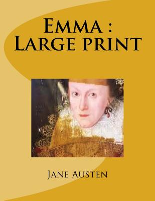 Emma: Large print Cover Image
