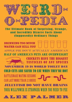 Weird-O-Pedia Cover