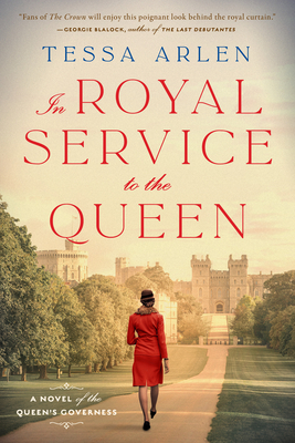 In Royal Service to the Queen: A Novel of the Queen's Governess Cover Image