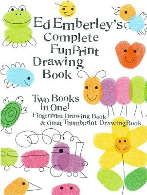 Cover for Ed Emberley's Complete Funprint Drawing Book