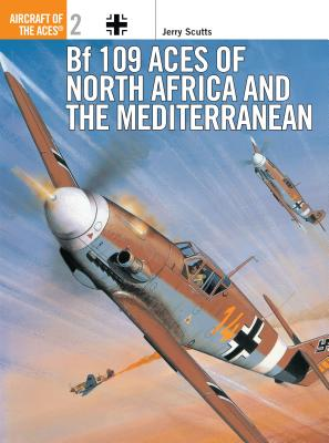 Bf 109 Aces of North Africa and the Mediterranean Cover