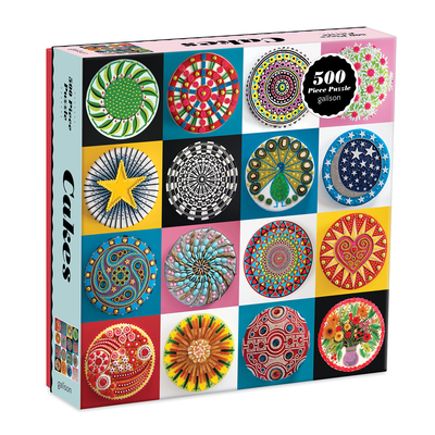 Cakes 500 Piece Puzzle Cover Image