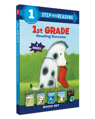1st Grade Reading Success Boxed Set: Best Friends, Duck & Cat's Rainy Day, Big Shark, Little Shark, Drop It, Rocket! The Amazing Planet Earth (Step into Reading) Cover Image
