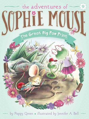 The Great Big Paw Print (The Adventures of Sophie Mouse #9) Cover Image