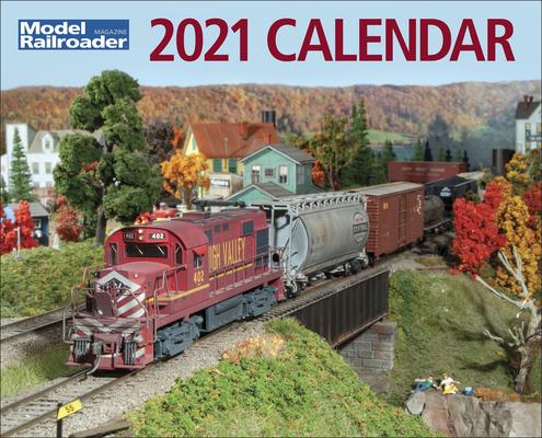 Model Railroader 2021 Calendar Cover Image