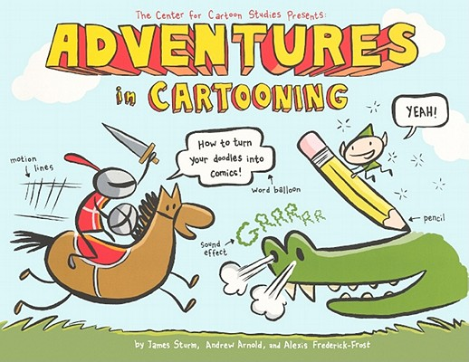 Adventures in Cartooning Cover Image