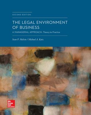 Loose-Leaf the Legal Environment of Business: A Managerial Approach: Theory to Practice Cover Image
