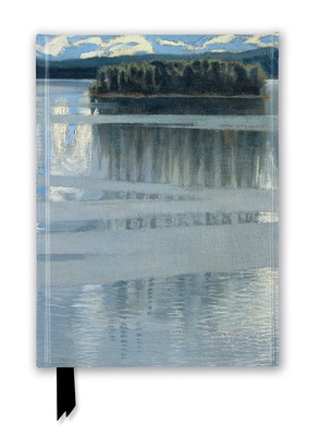 NG: Lake Keitele by Akseli Gallen-Kallela (Foiled Journal) (Flame Tree Notebooks) Cover Image
