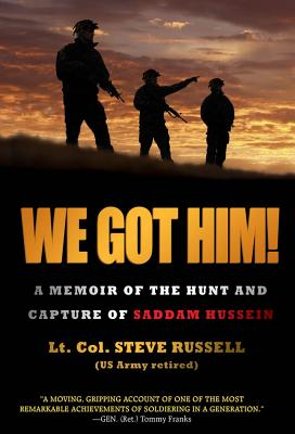 We Got Him! Cover