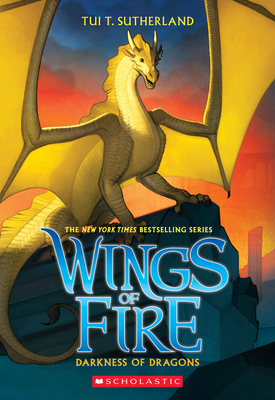 Cover for Darkness of Dragons (Wings of Fire, Book 10)