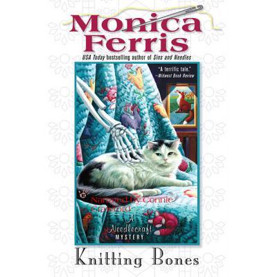 Knitting Bones Lib/E (Needlecraft Mysteries (Audio) #11) Cover Image