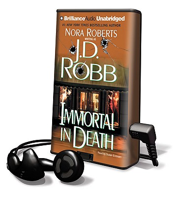 Immortal in Death [With Earbuds] (Playaway Adult Fiction) Cover Image