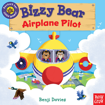 Bizzy Bear: Airplane Pilot Cover Image