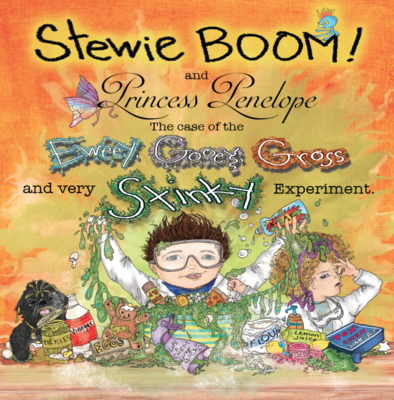 Stewie Boom! and Princess Penelope Cover