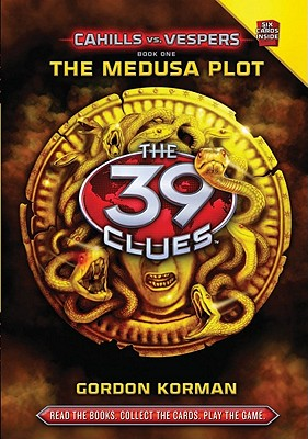 The 39 Clues: Cahills vs. Vespers Book 1: The Medusa Plot - Audio Cover Image
