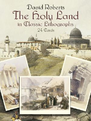 The Holy Land in Classic Lithographs: 24 Cards Cover Image