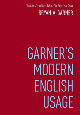 Garner's Modern English Usage Cover Image