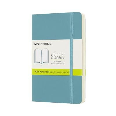 Moleskine Classic Notebook, Pocket, Plain, Blue Reef, Soft Cover (3.5 x 5.5) Cover Image