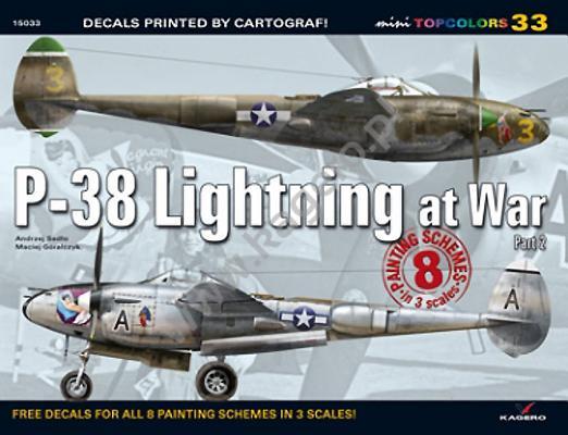 P-38 Lightning at War, Part 2 (Mini Topcolors #33) Cover Image