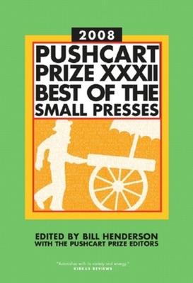 Pushcart Prize XXXII Cover
