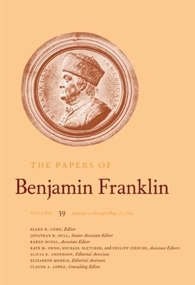 Cover for The Papers of Benjamin Franklin, Vol. 39