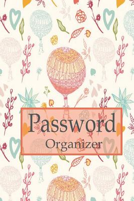 Password organizer: Internet Password Book, 6x9