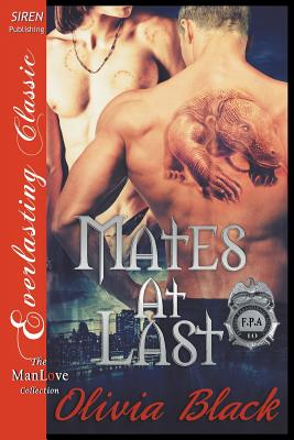 Mates at Last [federal Paranormal Agency 10] (Siren Publishing Everlasting Classic Manlove) Cover Image