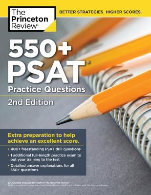 552 PSAT Practice Questions, 2nd Edition  cover image
