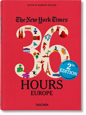 Nyt. 36 Hours. Europe. 2nd Edition Cover Image