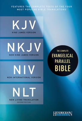 Complete Evangelical Parallel Bible-PR-KJV/NKJV/NIV/NLT Cover Image
