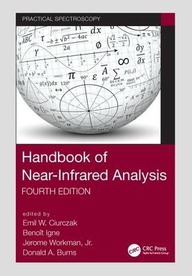 Handbook of Near-Infrared Analysis (Practical Spectroscopy) Cover Image