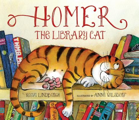 Homer, the Library Cat Cover