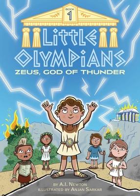 Little Olympians 1: Zeus, God of Thunder Cover Image