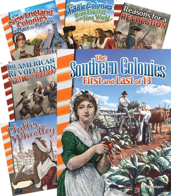 Colonization to Revolution 6-Book Set (Primary Source Readers) Cover Image