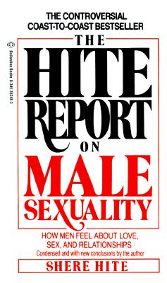 Hite Report on Male Sexuality Cover