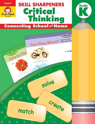 Skill Sharpeners Critical Thinking, Grade K Cover Image