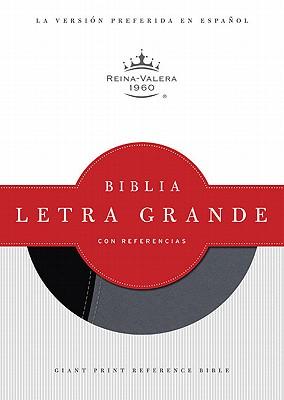 Biblia Letra Grande Con Referencias-Rvr 1960 Cover