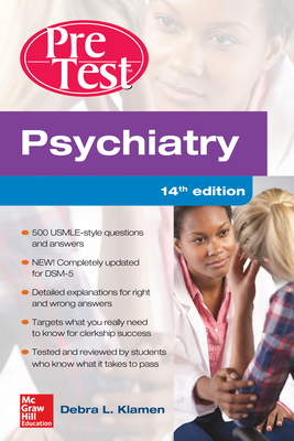 Psychiatry Pretest Self-Assessment and Review, 14th Edition Cover Image