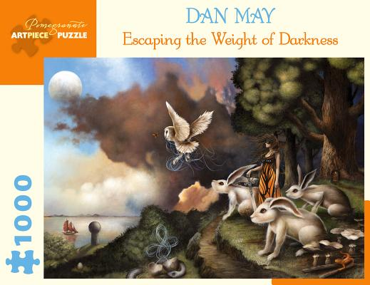 Dan May Escaping the Weight of Darkness 1000 Piece Jigsaw Puzzle Cover Image