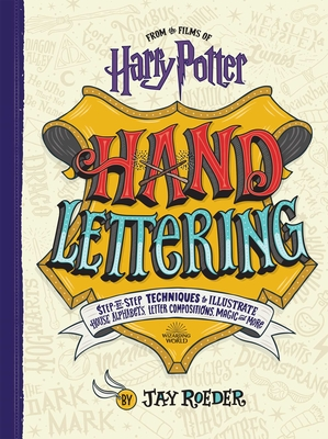 Harry Potter Hand Lettering Cover Image