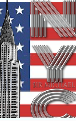 USA American Flag Iconic Chrysler Building New York City Sir Michael Huhn Artist Drawing Journal Cover Image