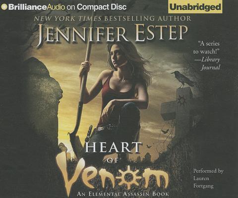 Heart of Venom (Elemental Assassin Books) Cover Image
