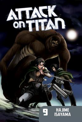 Attack on Titan, Volume 9 Cover
