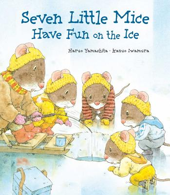 Seven Little Mice Have Fun on the Ice Cover