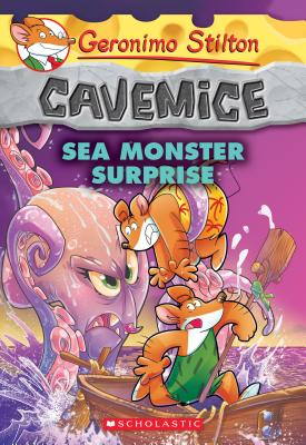 Sea Monster Surprise (Geronimo Stilton Cavemice #11) Cover Image